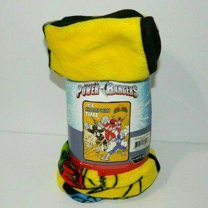 Mighty Morphin Power Rangers Fleece Blanket